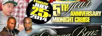 Kosmik Movements 5th Year Anniversary Midnight Cruise (2014)