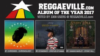 STONEBWOY IN TOP3 LIST OF REGGAEVILLE'S BEST ALBUMS OF 2017