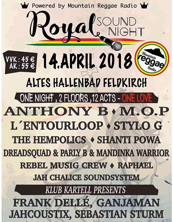STYLO G @ AT - Feldkirch - Royal Sound Night | Feldkirch | Vorarlberg | Austria