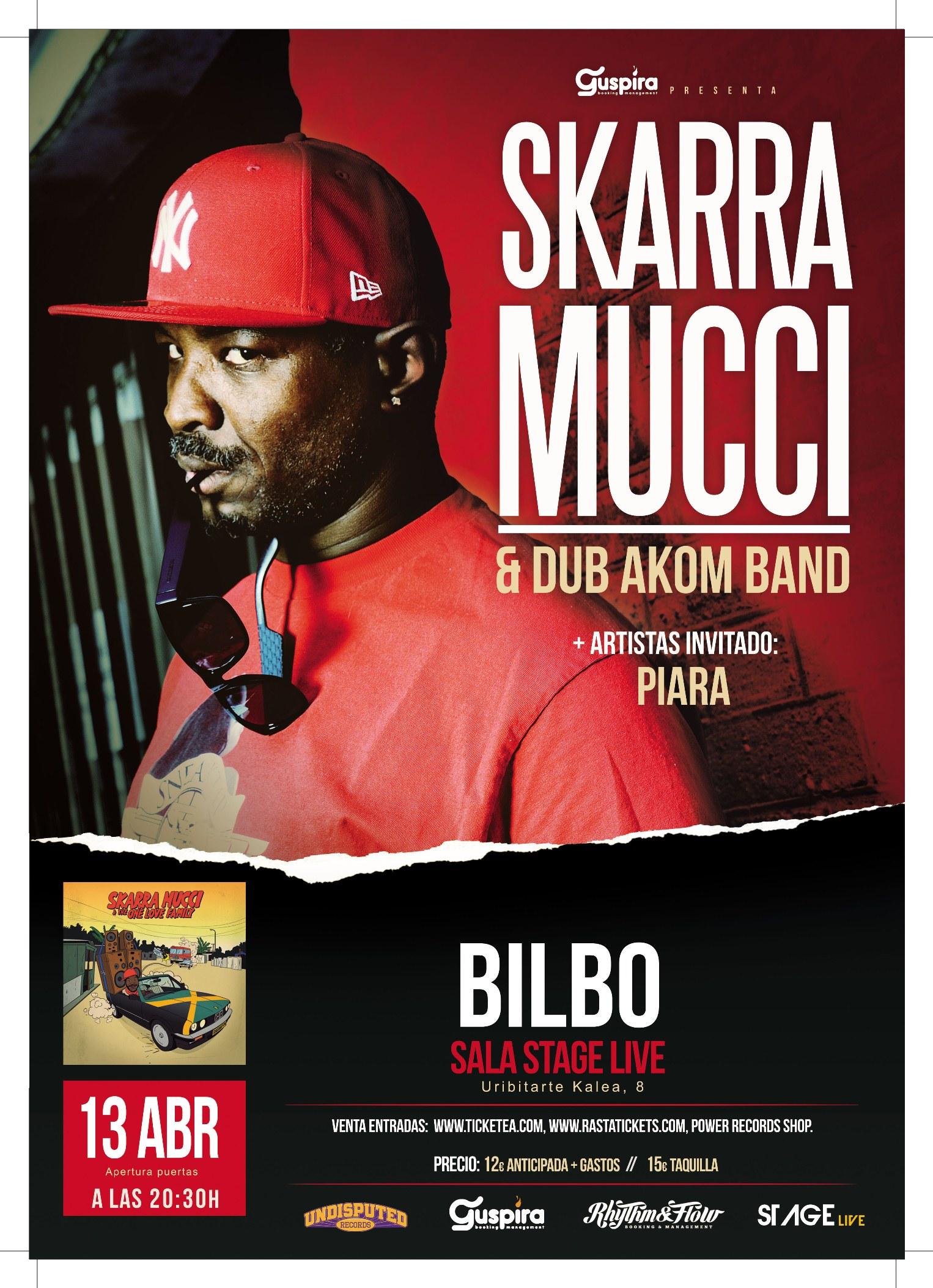 SKARRA MUCCI @ EH - Bilbao - Stage Live | Bilbao | País Vasco | España