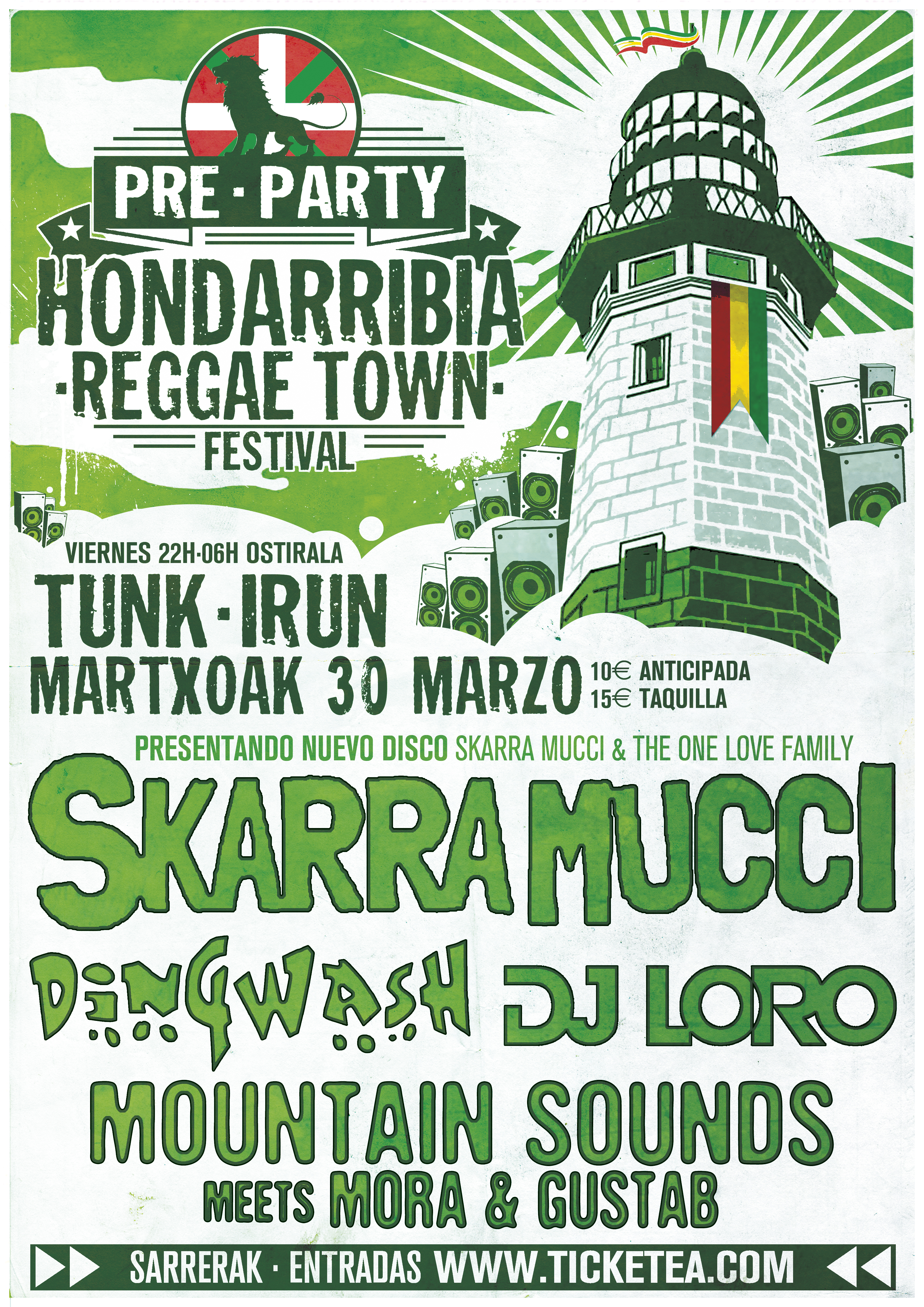 SKARRA MUCCI @ EH - Irun - Sala Tunk | Basque Country | Spain