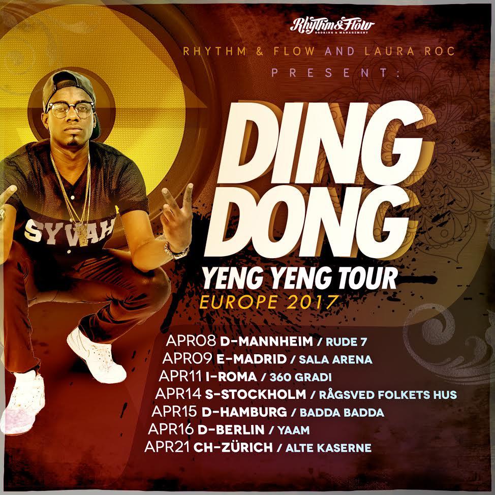 YENG YENG TOUR – EUROPE 2017