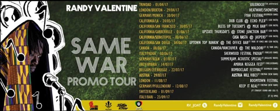 SAME WAR PROMO TOUR 2017