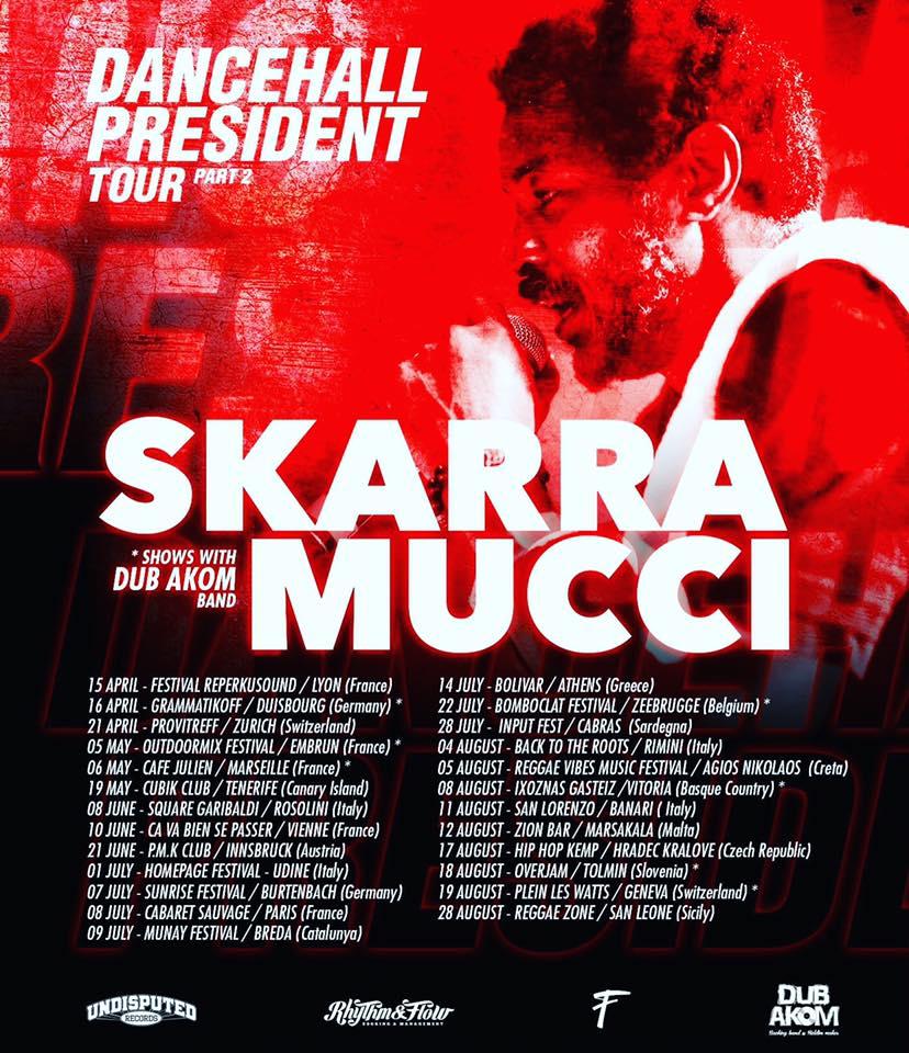 DANCEHALL PRESIDENT TOUR PART 2 – 2017