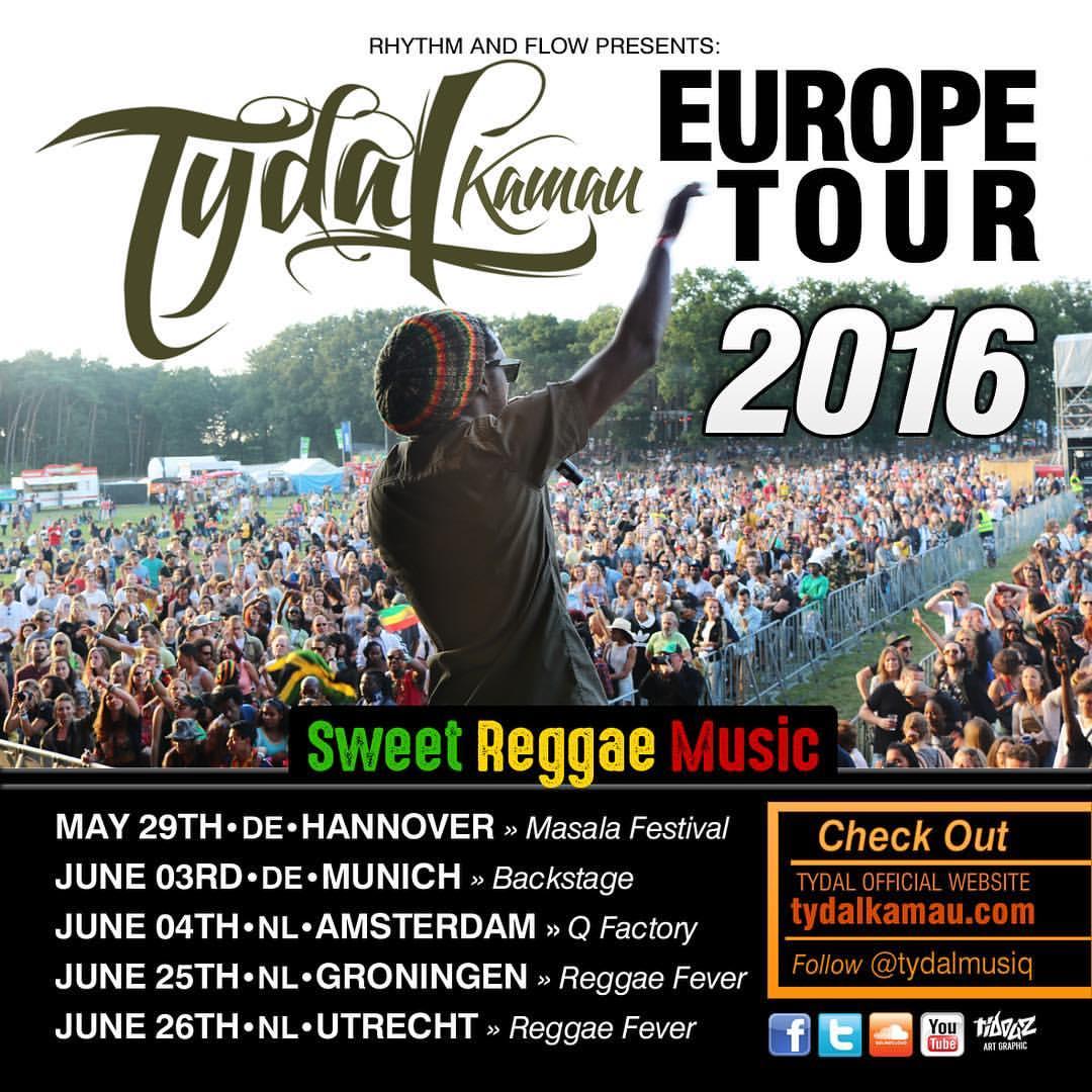 EUROPE TOUR 2016