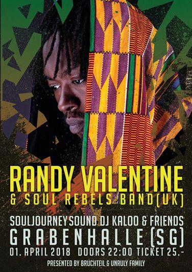 RANDY VALENTINE @ CH – St. Gallen – Grabenhalle  | St. Gallen | St. Gallen | Switzerland