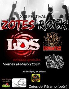 LAGRIMAS DE SANGRE @ ES - Zotes del Paramo - Zotes Rock