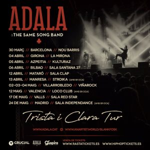 ADALA & THE SAME SONG BAND @ CAT - Valls - Sala Red Star