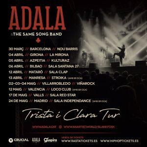 ADALA & THE SAME SONG BAND @ CAT - Barcelona - Nou Barris