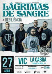 LAGRIMAS DE SANGRE @ CAT - Vic - Sala La Cabra