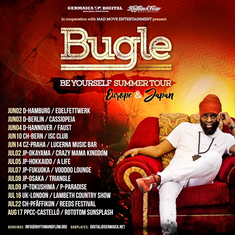BE YOURSELF SUMMER TOUR – EUROPE & JAPAN 2017