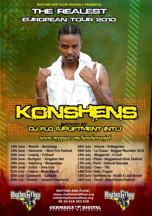 THE REALEST EUROPEAN TOUR 2010