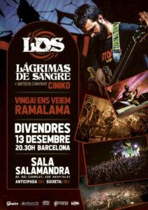 LAGRIMAS DE SANGRE @ CAT - Barcelona - Sala Salamandra