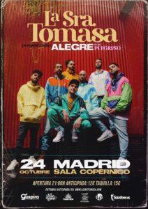 LA SRA. TOMASA @ ES - Madrid - Sala Copérnico