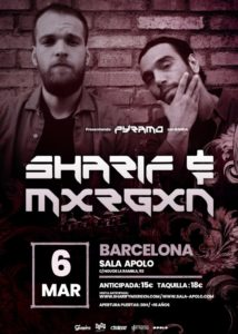 SHARIF & MXRGXN @ CAT - Barcelona - Sala Apolo