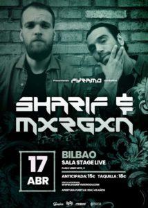 SHARIF & MXRXGN @ EH - Bilbao - Sala Stage Live