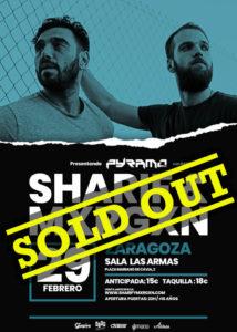 SHARIF & MXRGXN @ ES - Zaragoza - Las Armas