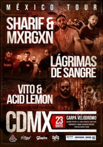 LAGRIMAS DE SANGRE @ MEX - CDMX - Carpa Velodromo