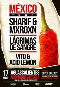 LAGRIMAS DE SANGRE @ MEX - Aguascalientes - Auditorio Victoria