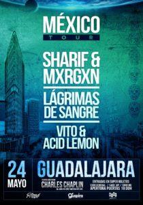 LAGRIMAS DE SANGRE @ MEX - Guadalajara - Teatro Charles Chaplin