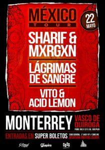 LAGRIMAS DE SANGRE @ MEX - Monterrey - Vasco de Quiroga