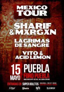 LAGRIMAS DE SANGRE @ MEX - Puebla - Foro Puebla
