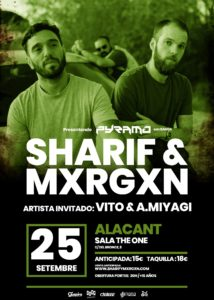 SHARIF & MXRGXN @ PPCC - Alacant - Sala The One