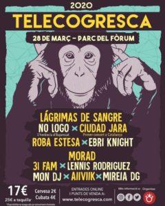 LAGRIMAS DE SANGRE @ CAT - Barcelona - Telecogresca