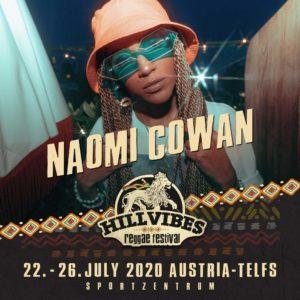 NAOMI COWAN & FIREMAN CREW @ AUT - Telf - Hill Vibes Reggae Festival
