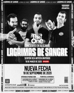 LAGRIMAS DE SANGRE @ PPCC - Alacant - Sala The One